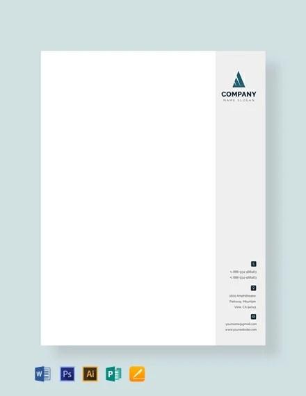 FREE Business Letterhead Format Download 84+ Letterheads in PSD