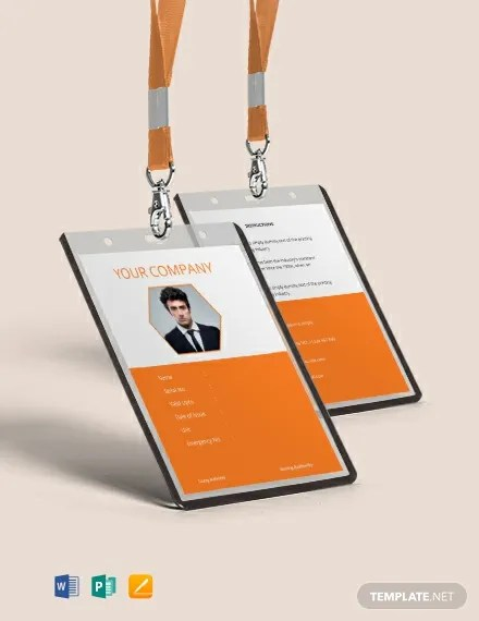 36+ FREE ID Card Templates Download Ready-Made Templatenet