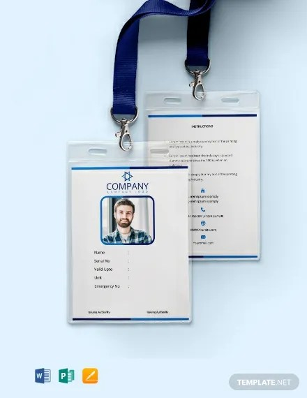 FREE Office Blank ID Card Template Download 300+ Cards in PSD