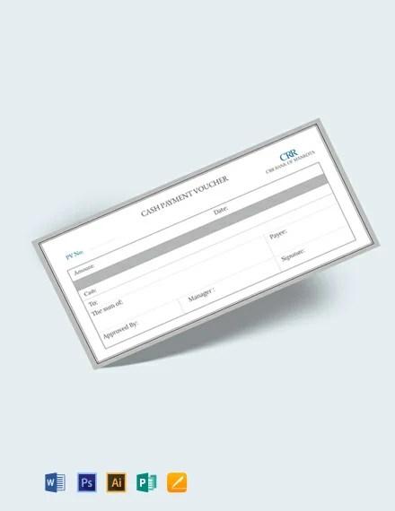 FREE Cash Payment Voucher Template Download 515+ Vouchers in PSD