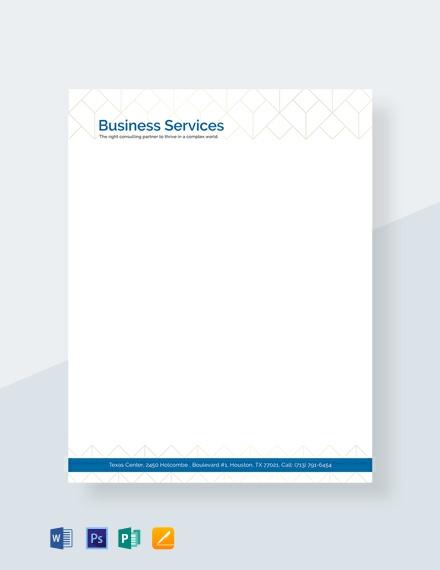 FREE Business Letterhead Template Download 76+ Letterheads in PSD