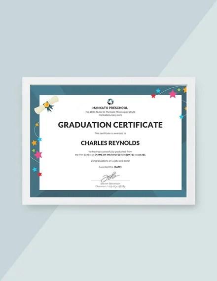 Free Graduation Certificate Template Download 200+ Certificates in