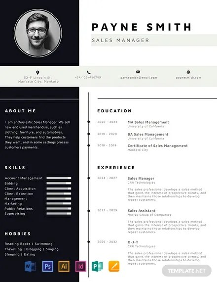 FREE Corporate Resume Template Download 316+ Resume Templates in