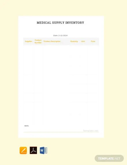 67+ FREE Inventory Templates Download Ready-Made Templatenet