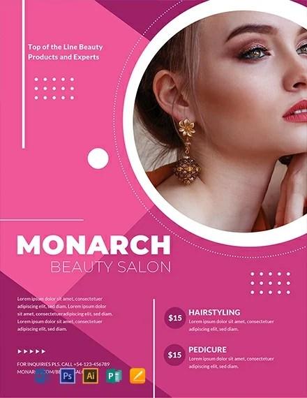 FREE Beauty Salon Flyer Template inTemplate Download 884+ Flyers in
