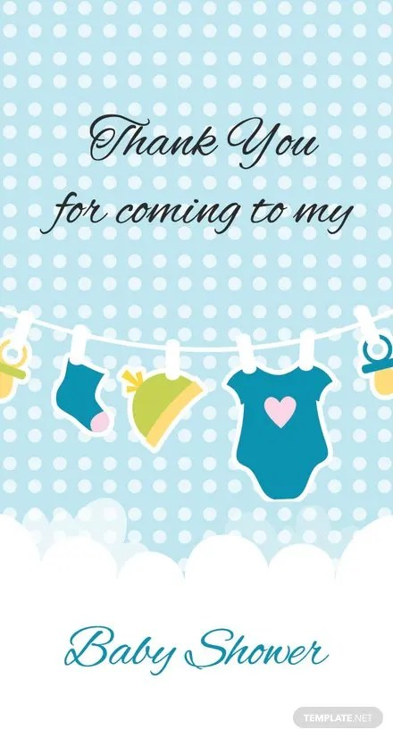 Free Baby shower Thank You Tag Template Download 47+ Tags in PSD
