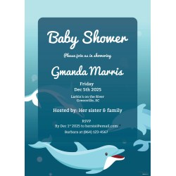 Small Crop Of Printable Baby Shower Invitations