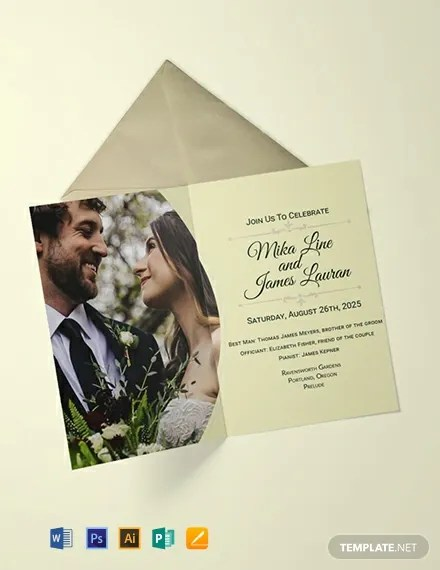 FREE Editable Wedding Invitation Template Download 637+ Invitations