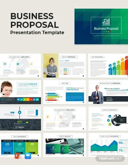 FREE Business Proposal Presentation Template Download 67+