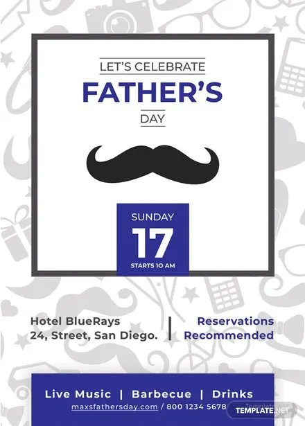 FREE Fathers Day Invitation Template Download 637+ Invitations in