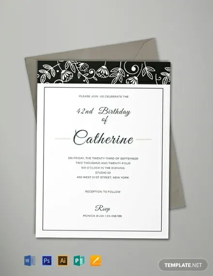 FREE Formal Event Invitation Template Download 637+ Invitations in