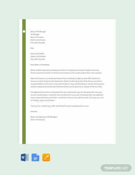 FREE Job Proposal Letter Template Download 2191+ Letters in Word