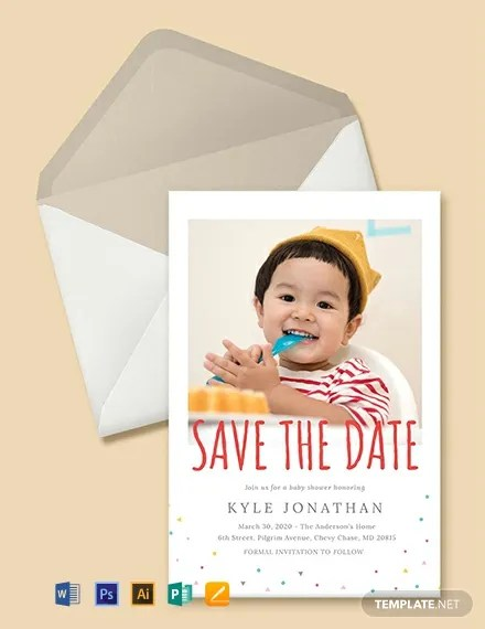 FREE Save the Date Birthday Invitation Template Download 637+