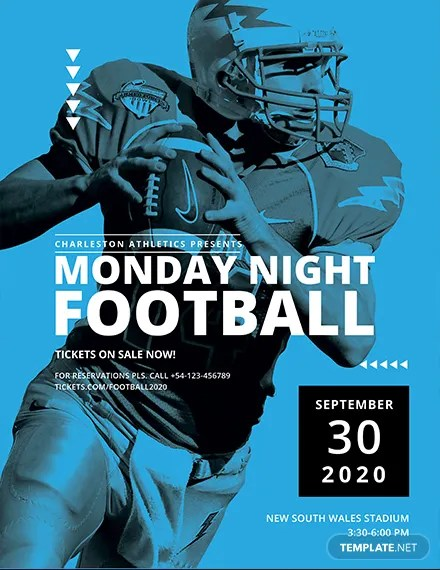 Free Sports Flyer Templates Download Ready-Made Templatenet - football flyer template free