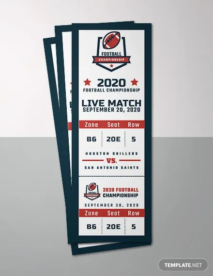 73+ FREE Ticket Templates Download Ready-Made Templatenet