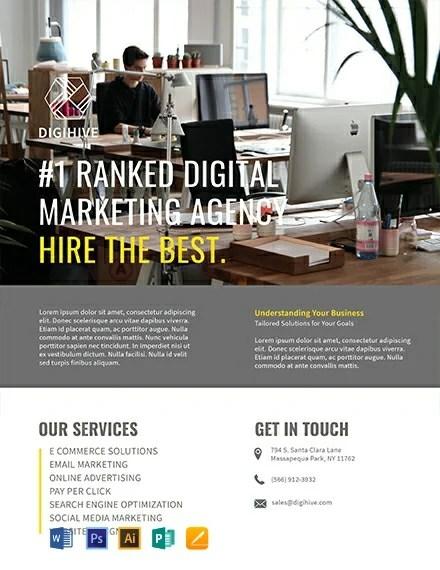 FREE Digital Marketing Flyer Template Download 812+ Flyers in PSD