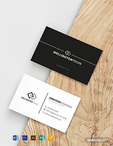 FREE Blank Business Card Template Download 198+ Business Cards in
