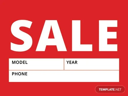 Free Sale Sign Template Download 12+ Signs in PSD, Illustrator