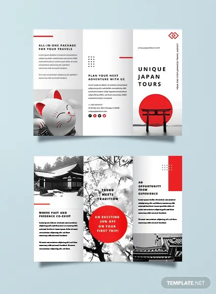Free Travel Brochure Templates Download Ready-Made Templatenet
