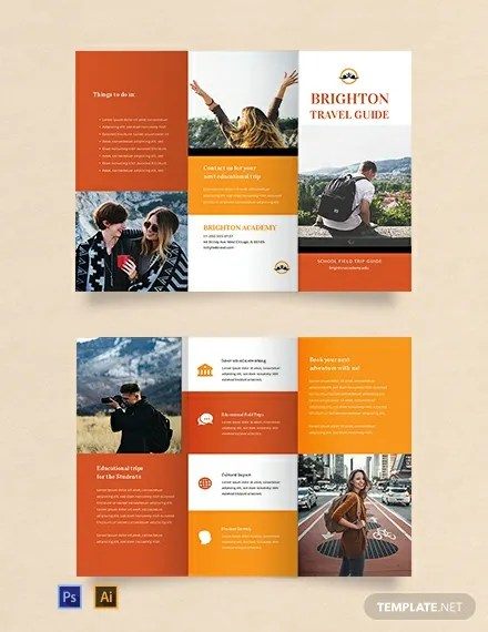 FREE Travel Brochure Template for Students Download 457+ Brochures