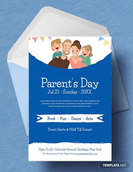 FREE Parents Day Invitation Template Download 637+ Invitations in