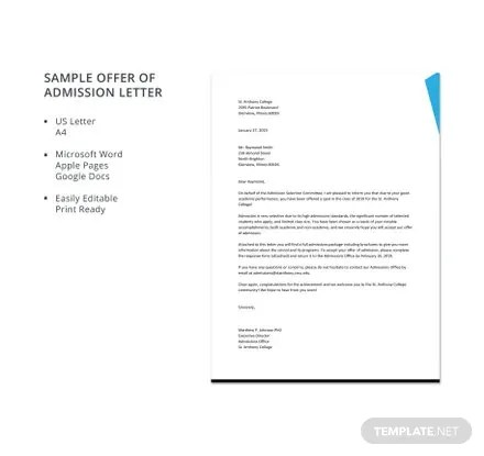 Sample Exit Letter Template Free Templates - exit letter