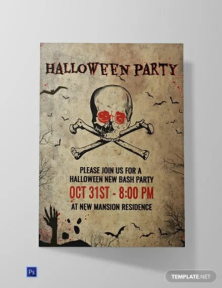 FREE Creepy Halloween Invitation Template Download 636+ Invitations
