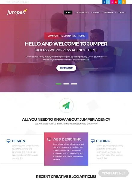 Free Website Templates Download Ready-Made Templatenet