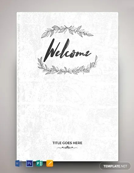 FREE Editable Binder Cover Template Download 81+ Book Covers in PSD