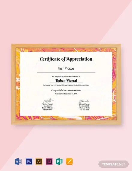 435+ FREE Certificate Templates Download Ready-Made Samples