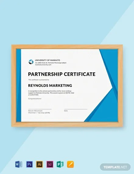 FREE Business Certificate Design Template Download 435+