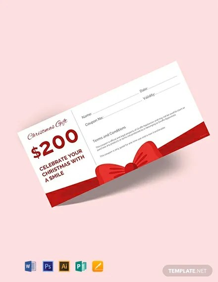 FREE Christmas Gift Voucher Template Download 515+ Vouchers in PSD