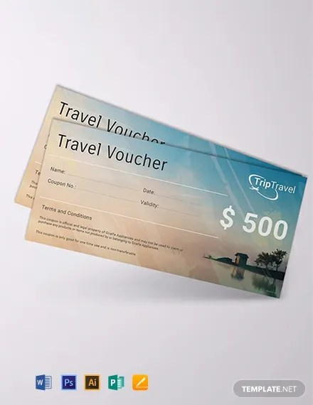 FREE Travel Gift Voucher Template Download 515+ Vouchers in PSD