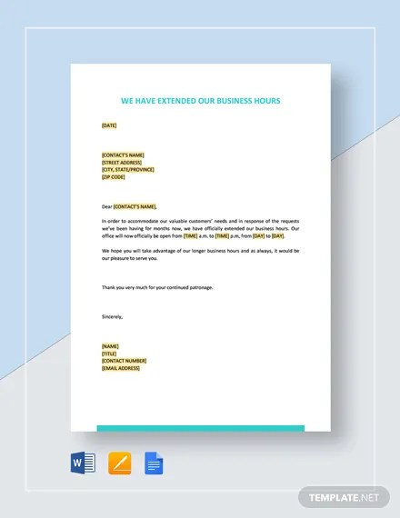 FREE Business Closing Letter Template Download 2191+ Letters in