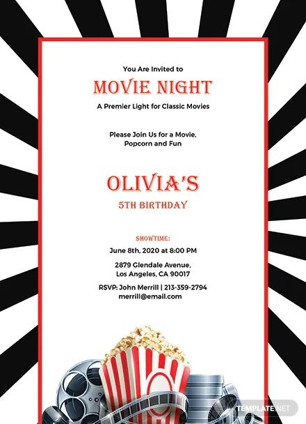 invitations to a party