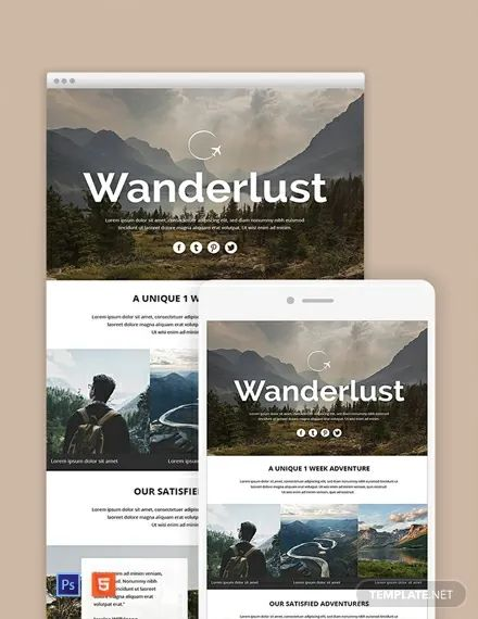 free download travel agency templates