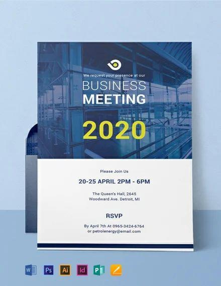 conference invitation templates