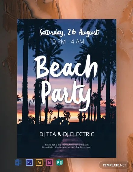 46+ FREE Party Flyer Templates Download Ready-Made Samples