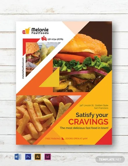 Free Delicious Fast Food Flyer Template Download 812+ Flyers in PSD