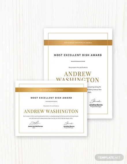 45+ Award Certificate Templates - Word, PSD, AI, EPS Vector Free