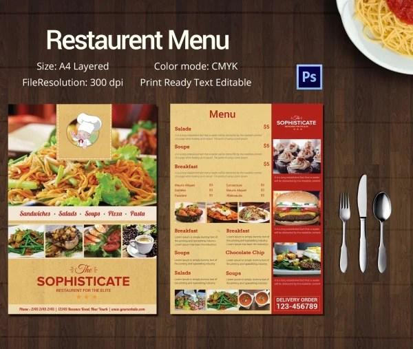 Menu TemplateRestaurant Menu template All Form Templates - Sample Pizza Menu Template