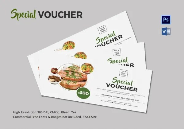 ... Food Voucher Template Coupon 40 50 Free Coupon Templates   Free Lunch  Coupon Template ...  Lunch Voucher Template
