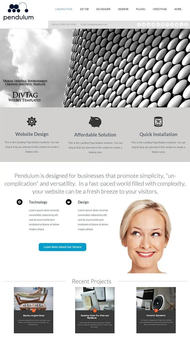 weebly templates free