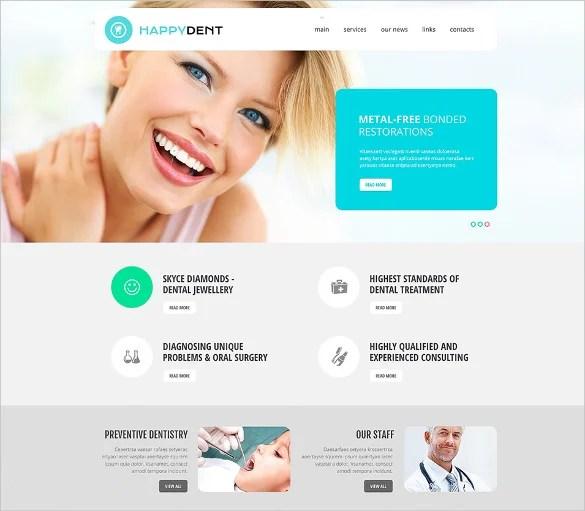 Doctor Office Website Template elbandito - doctor office website template