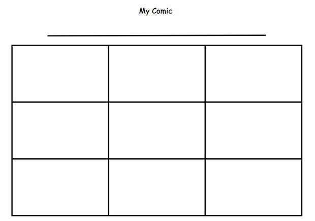 Comic Strip Template Free  Premium Templates