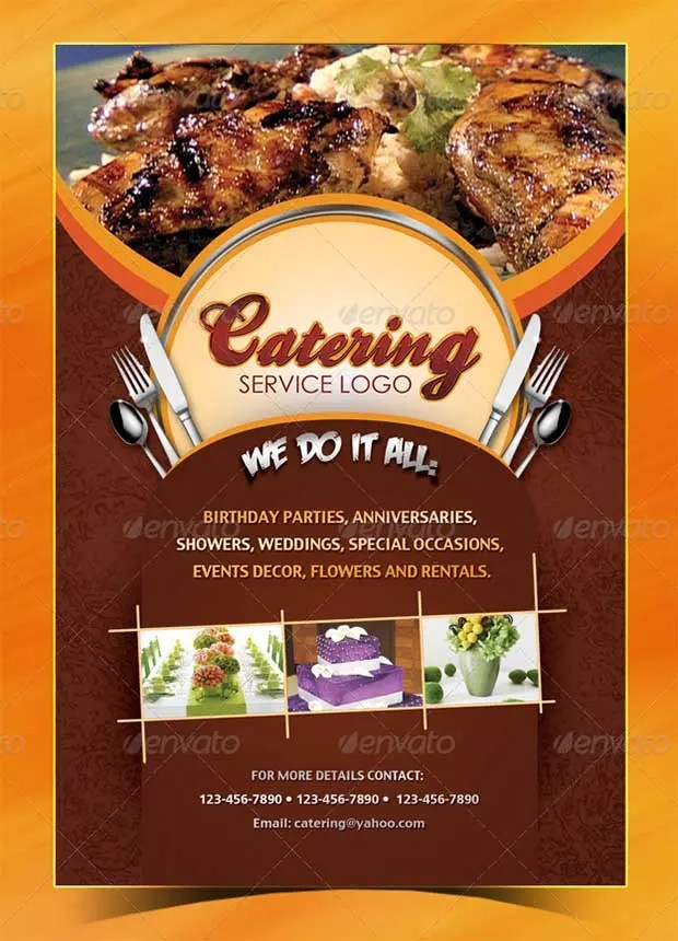 Restaurant Flyer Templates - 65+ Free Word, PDF, PSD, EPS, InDesign - food flyer template