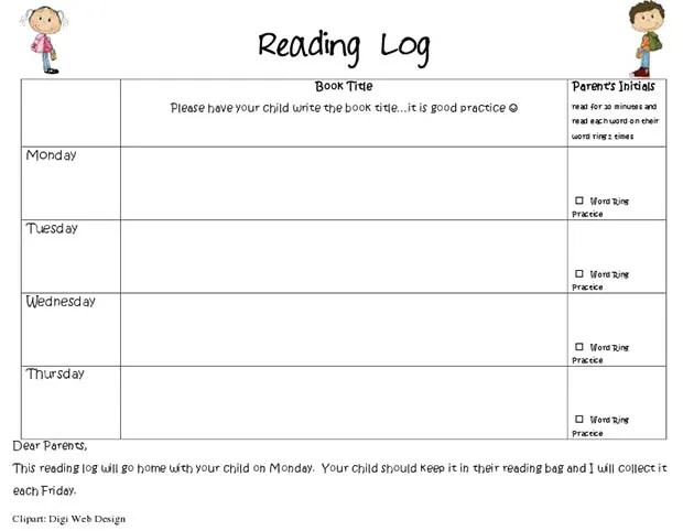 reading diary template - Acurlunamedia - Reading Log Template