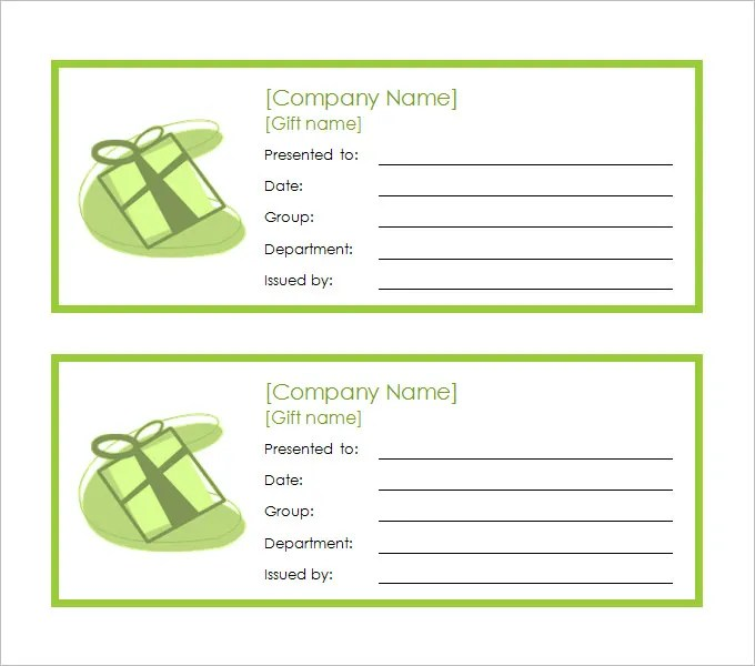 printable blank coupon template - Eczasolinf