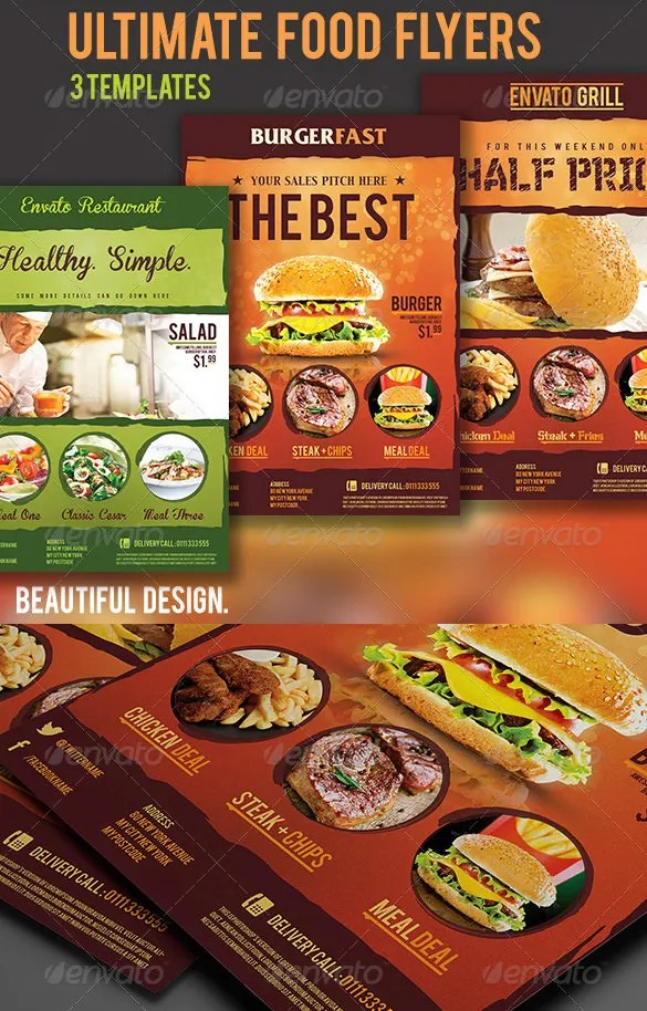 68+ Restaurant Flyer Templates - Word, PDF, PSD, EPS, InDesign