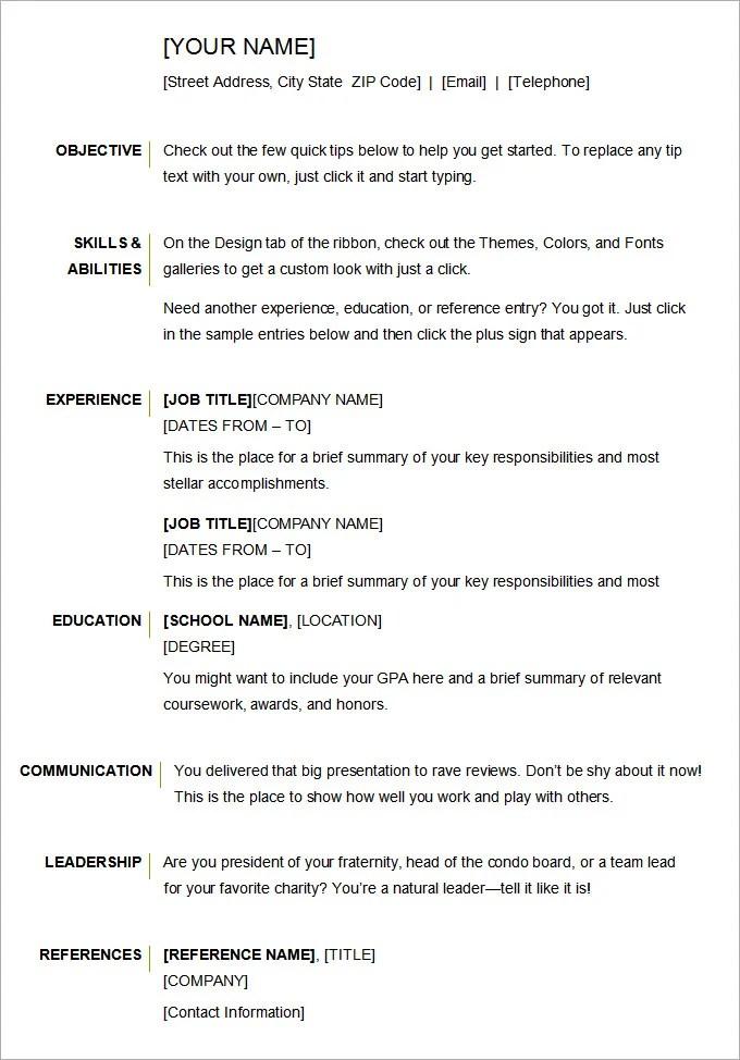 Ideas for my boyfriends 18th birthday - Peridot Digital resume - athletic resume template